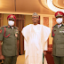 President Buhari's new ADC resumes duty