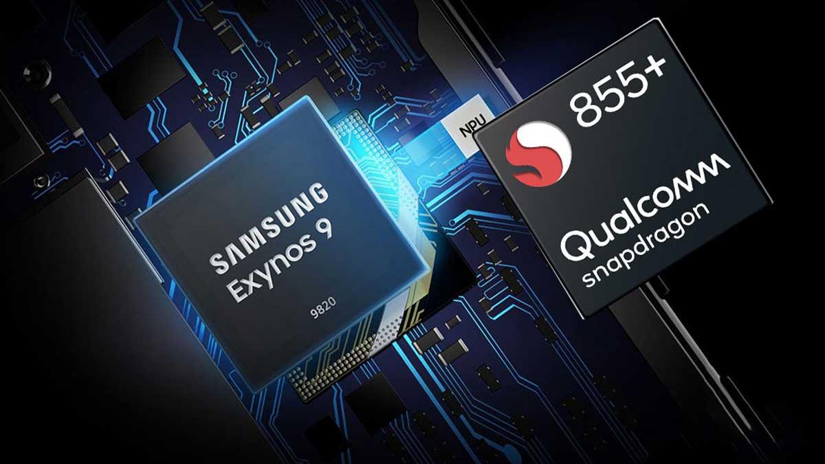 مقارنة معالج snapdragon 855 و exynos 9820 أيهما أفضل