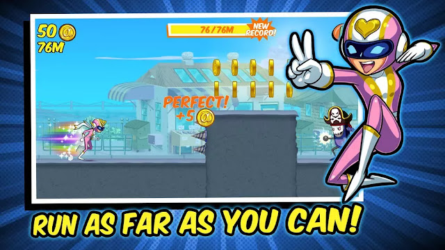 Run Run Super V Apk Download Mod+Hack+Data
