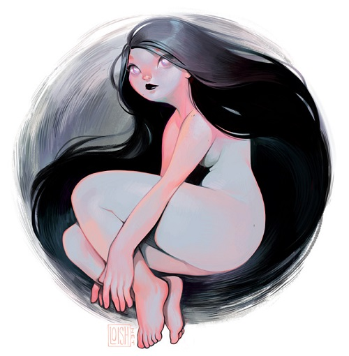 ilustración por Loish | creative emotional illustration art drawings, cool stuff, pictures, deep feelings, sad | imagenes chidas imaginativas bonitas bellas, emociones y sentimientos