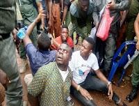 VIOLENT CRIMINALS ARRESTED AT EKITI APC GUBER PRIMARY