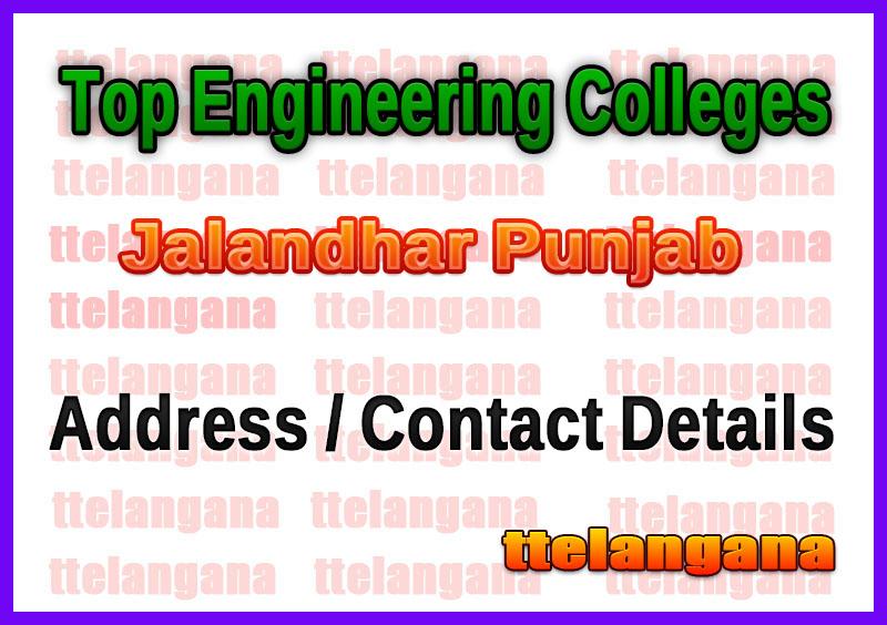 Top Engineering Colleges in Jalandhar Punjab