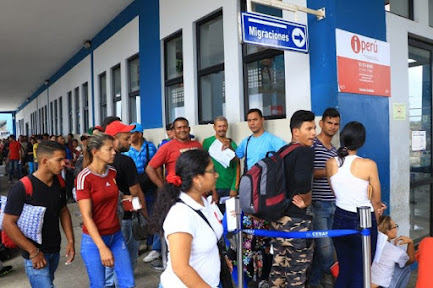Venezolanos en Perú tienen 60 días para sacar el PTP