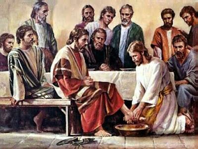 Yesus Membasuh Kaki Sahabat-Sahabat-Nya dan Yesus Memberi Roti Kehidupan
