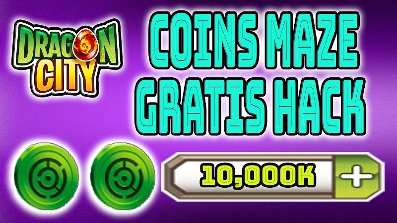 Dragon CIty : Obtener maze coins Gratis Laberinto Colores