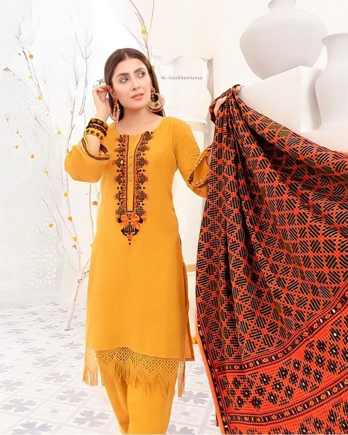 Ayeza Khan New One Photoshoot For Winter Collection 9