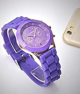 CdyBox Luxury Silicone Quartz Watch