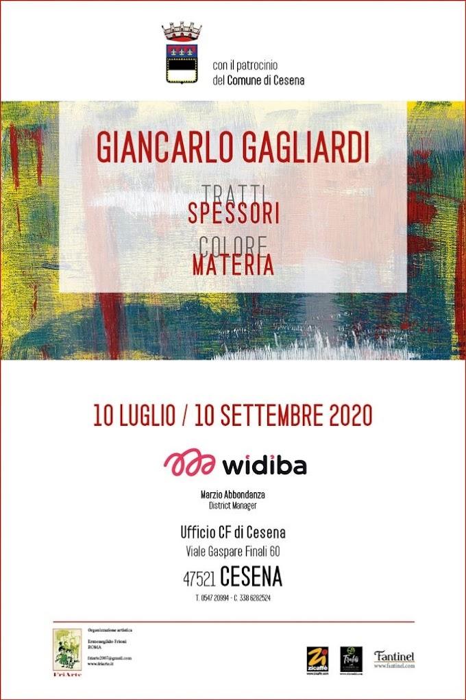 Arte: a Cesena la mostra di Giancarlo Gagliardi