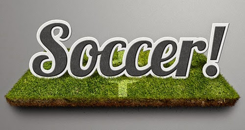 Create a Soccer Theme Text Effect in Adobe Photoshop