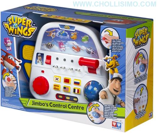 Super Wings - Centro de mando de Jimbo con luz y sonido