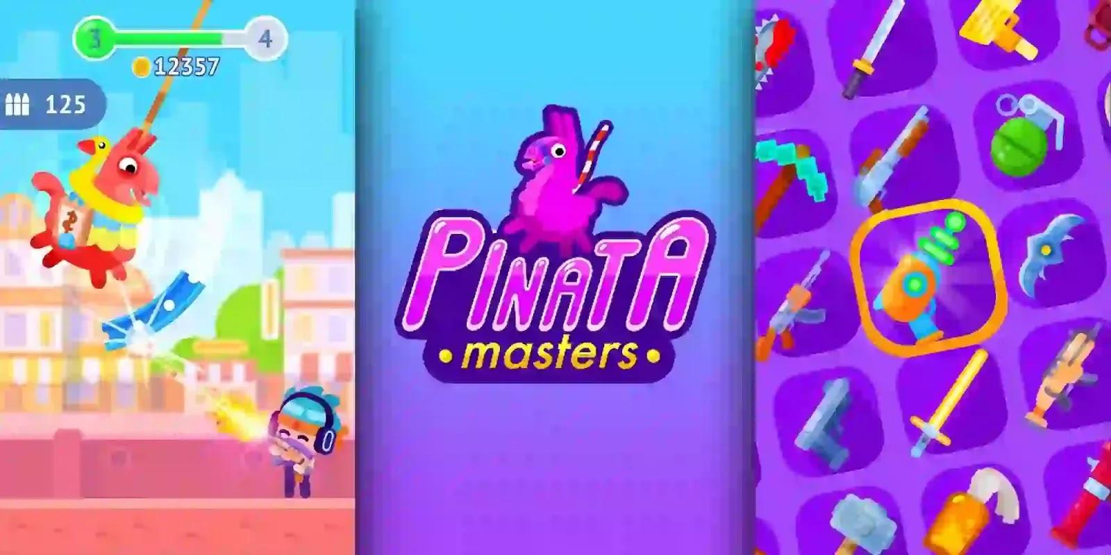 Pinatamasters اللعبة مستوحاة من المهرجانات التقليدية في المكسيك وبعض دول أمريكا اللاتينية الأخرى حيث يظهر Pinata.