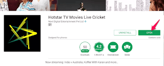 install Hotstar For Android Tv