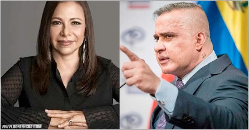 Ibéyise Pacheco denuncia a Tarek William Saab del delito de simulación de hecho punible
