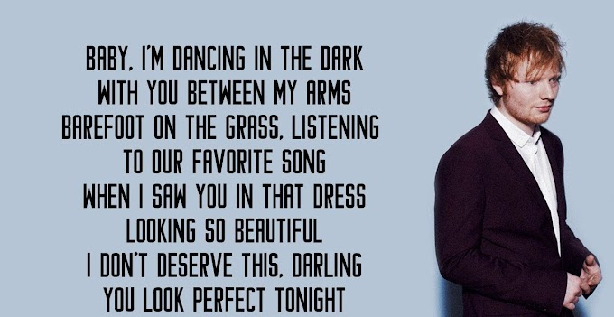 Ed Sheeran Perfect Lyrics || Perfect Song Lyrics Perfect Lyrics By Hindi Song Lyrics