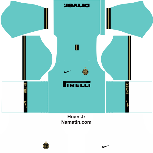 Logo Kit Dream League Soccer Inter Milan 2019 2020 Namatin