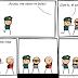 Historieta del ladron y policia - Historietas cortas