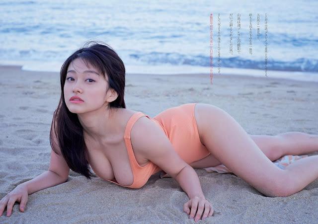 Yamachi Mari 山地まり Weekly Playboy 2016 No 3-4 Wallpaper HD