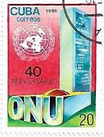 Selo Aniversário da ONU