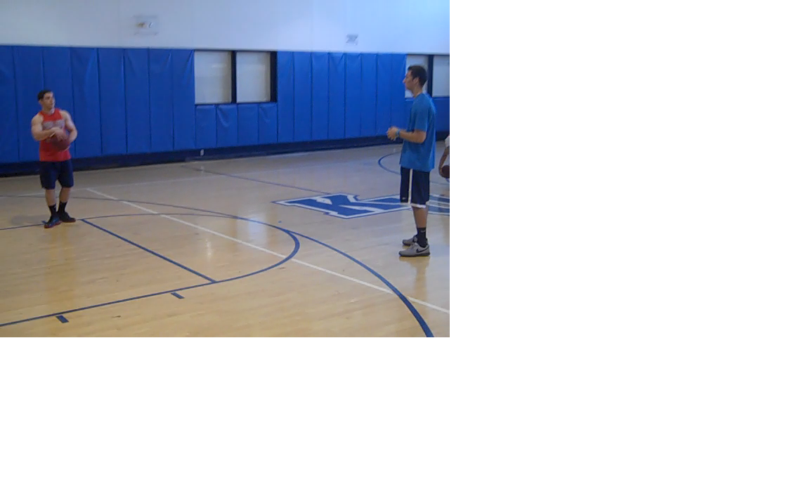 Basketball Passing: Behind the back pass Prep