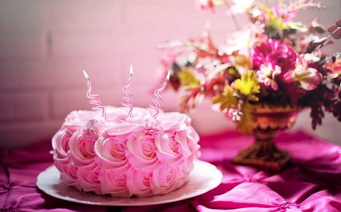 Bolo, Especial, Morango, Aniversário