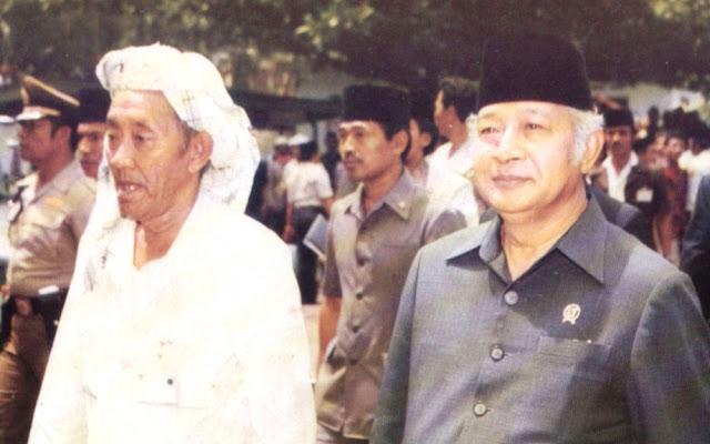 Wah! Ternyata Lengsernya Soeharto Telah Diprediksi dan Diperingatkan oleh Guru Spiritualnya