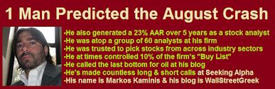 who predicted the stock market crash
