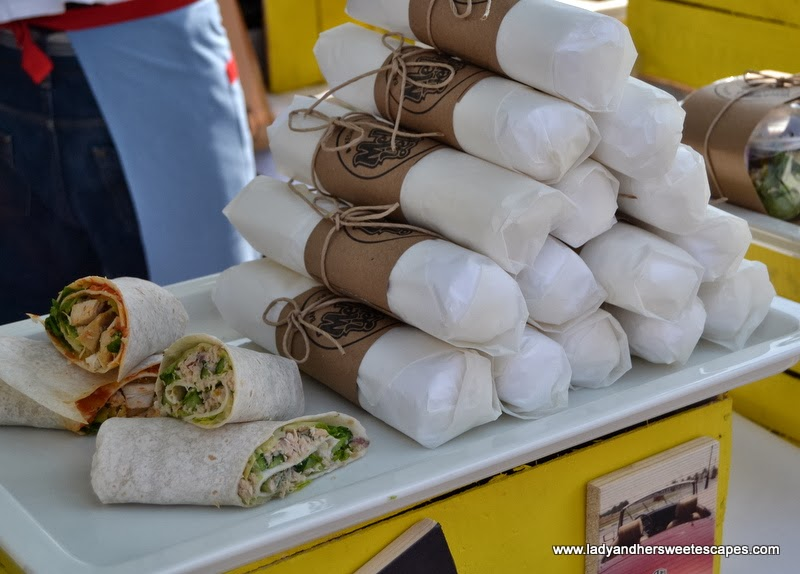 Mellow Yellow's mouthwatering wraps