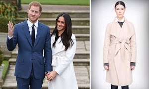 Line The Label's Website CRASHES After Meghan Wears A £450 Coat For Her Engagement Announcement
