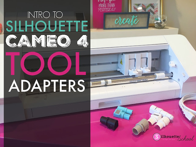 silhouette 101, silhouette america blog, cameo 4 unboxing, silhouette cameo 4 review, cameo 4 tools,