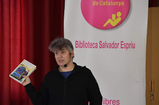Montse Barderi, escriptora, filòsofa i periodista.