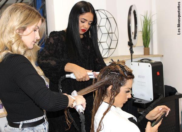 Cryothérapie des cheveux avec Innovation For Hair et Laura Lempika à Marseille