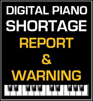 Digital Piano Shortage 2021