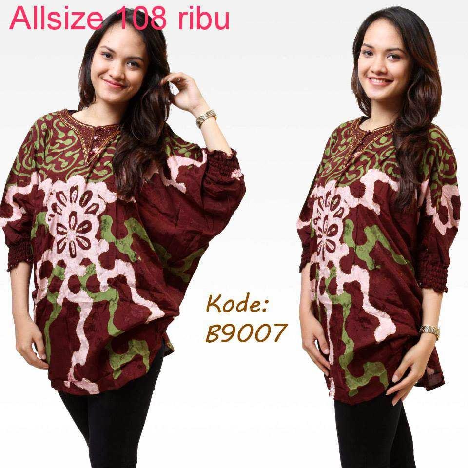 Contoh Potongan Baju Batik Modern: Kumpulan Model Baju Batik Modern