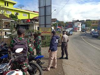 Patroli Sinergitas TNI-Polri Guna Memutus Mata Rantai Penyebaran Virus Covid-19