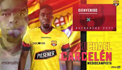 Michael Carcelén refuerzo barcelona sc 2021