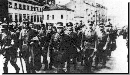 German generals captured during Bagration marched in Moscow in 1944