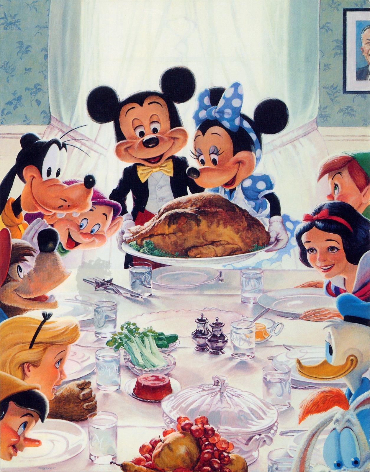 Disney Avenue: Happy Thanksgiving Everyone