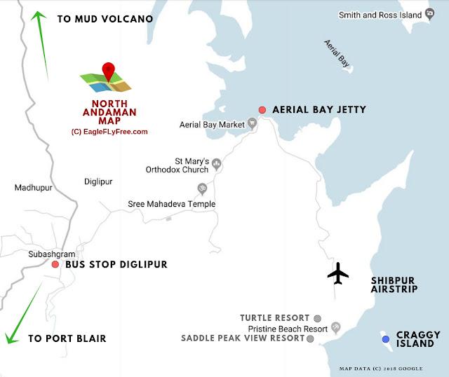 map of north andaman @doibedouin