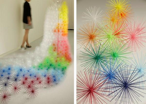 SHIKIRI: il potere dei colori di Emmanuelle Moureaux | ARC ART blog by  Daniele Drigo