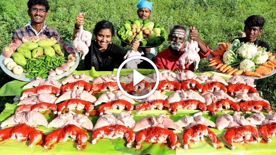 KING of VEG 25 CHICKEN Masala – Best Taste / Village food factory
