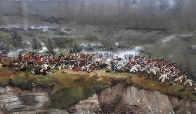 Panorama museum mural depicting battle with Napoleon in Innsbruck