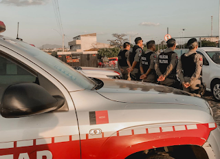 Quase mil policiais reforçam segurança na Paraíba durante feriadão