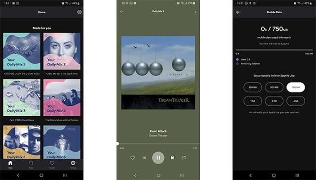 Spotify Lite Dirilis