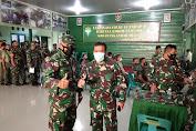 Dandim 0101/BS Instruksikan Anggota Satgas TMMD Laksanakan Vaksin Tahap II