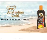 Logo Trilab : diventa una delle 50 tester Australian Gold abbronzante