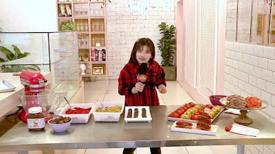 Receita do cookie com mini Mônica (Foto Divulgação/SBT)