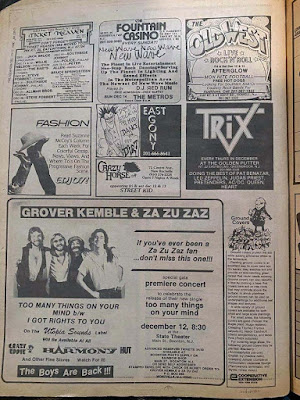 The Aquarian... October 1980. I remember this like it was yesterday!!