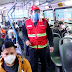 Trujillo: advierten multas a pasajeros que no utilicen protector facial en el transporte público