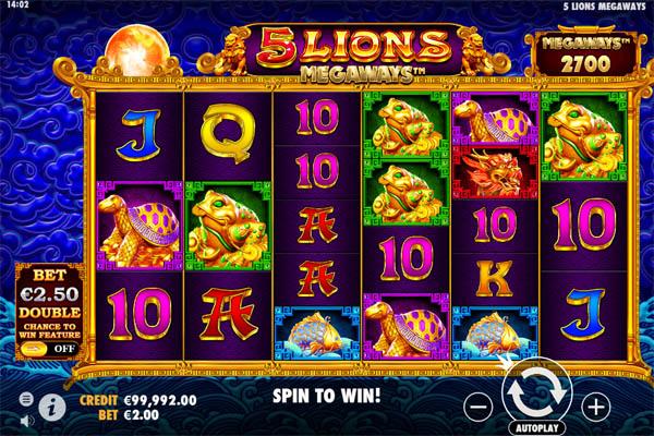 Main Gratis Slot Indonesia - 5 Lions Megaways Pragmatic Play