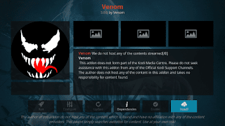 Venom Movie Kodi addon